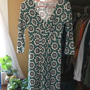 Boden mid-length dress size 2